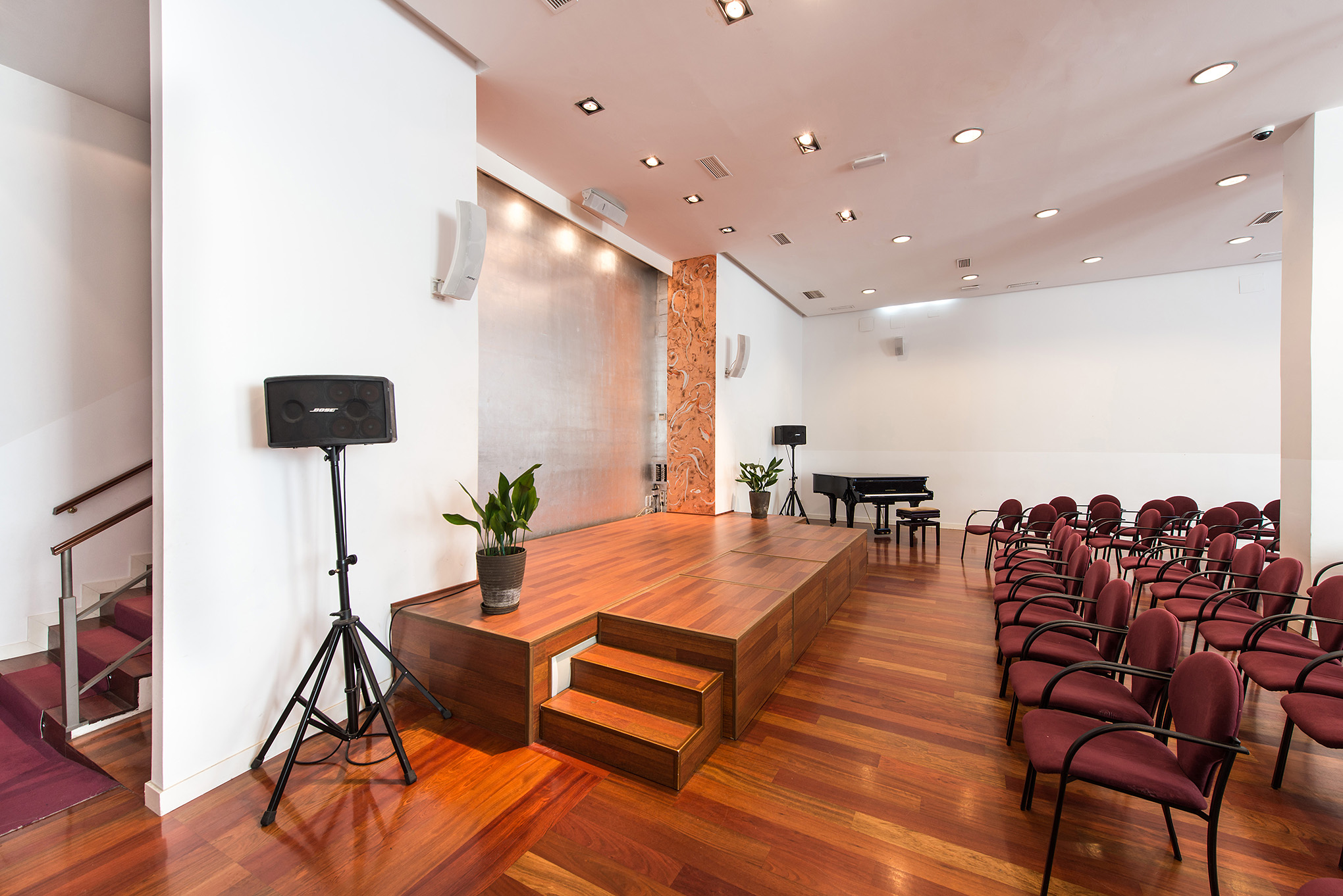 Sala de conciertos en Espacio Ronda
