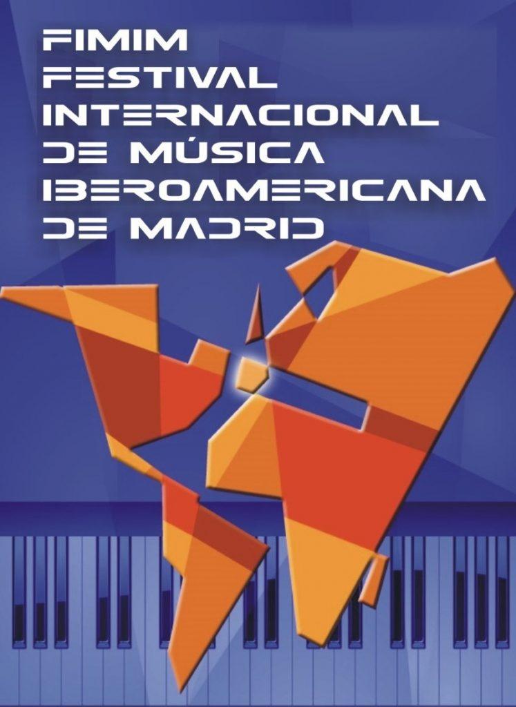 Cartel del Festival Internacional de Música Iberoamericana de Madrid